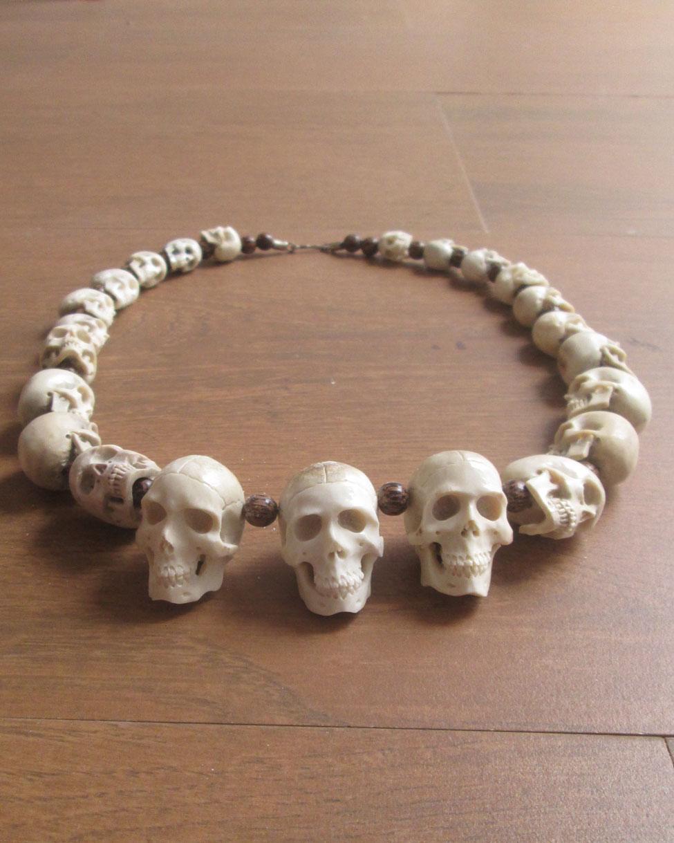 Skull Necklace Archives Bali Bone Carving Wholesale
